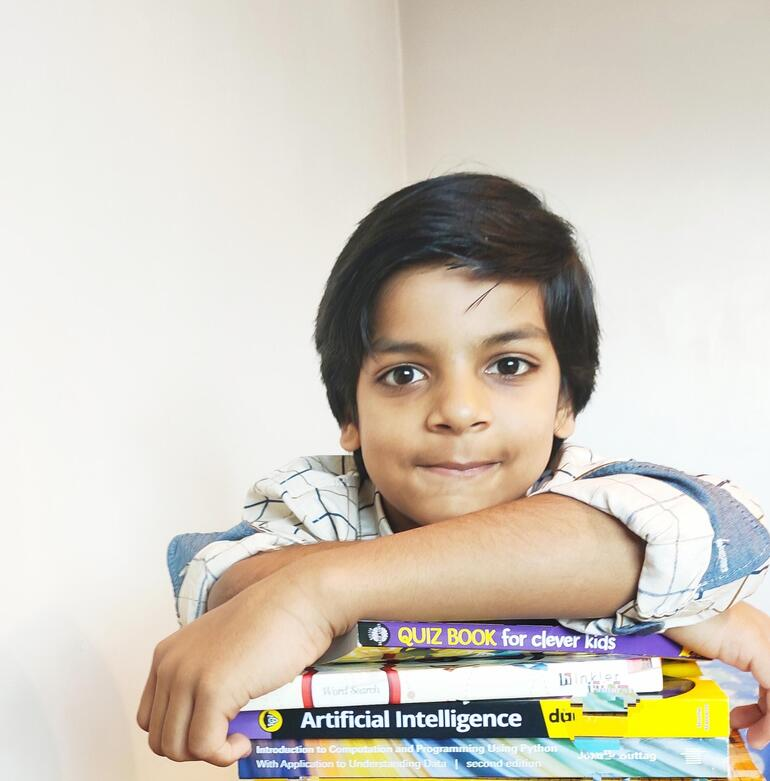 Seven-year-old Kautilya Katariya set a new Guinness World Record for completing IBM's AI certification - Bansoro
